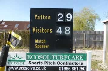 Two years, two tours, two wins. Yatton RFC 29 - 48 Black Horse RFC