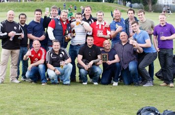 Black Horse RFC 20011- 12 Herts/Middlesex Merit Table 5 Plate Winners. Black Horse beat Hampstead 4th  33 - 12