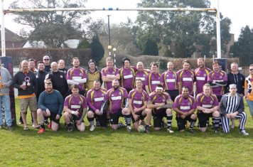 Black Horse RFC - MDAW Tour 2016. Pre-match picture at Sandown & Shanklin