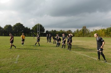 Black Horse vs. Fullerians 3rd, 15th October 2016