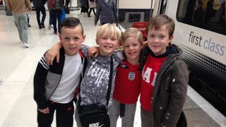 MPE Under 8s go to Wembley ! England 2 v 0 Malta 8/10/2016