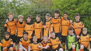 Hearts U14 Tigers Win Division 6