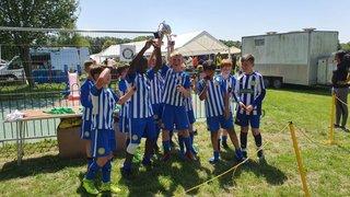 U10's Blues Eldon Tournament Winners 2018/19