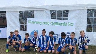 U10's Blues Eversley & California Tournament Winners 2018/19