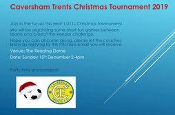 Caversham Trents U11's - Christmas Tournament @ Madejski Dome