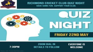Update: RCC Quiz and Fundraiser