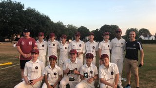 3rd trophy for Under 14's but Under 10's miss out on Lord's