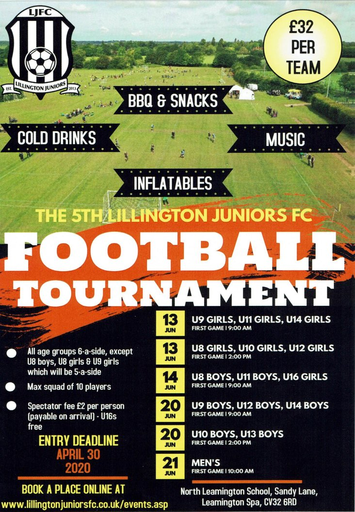 LJFC 6-a-side Tournament