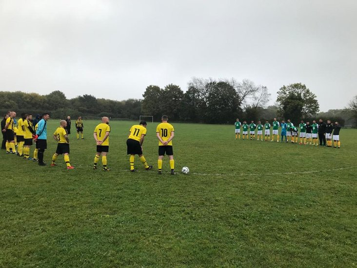 Minute's silence for Mick Brady