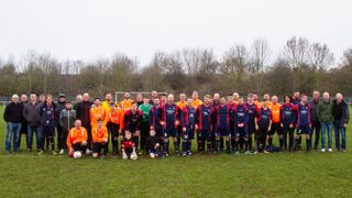 Radcliffe Olympic Boxing Day Charity Game 2018