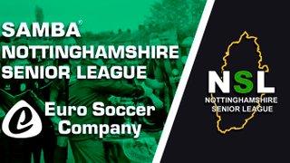 Samba Notts Senior League Round Up