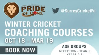 Winter Coaching with Surrey Cricket Club