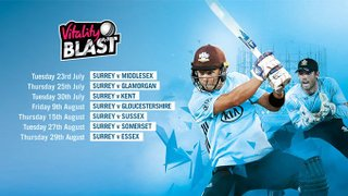 Surrey CC vs Somerset CC - T20 Blast Club Away Day