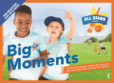 All Stars Cricket - Ages 5 to 8 - Registration now open