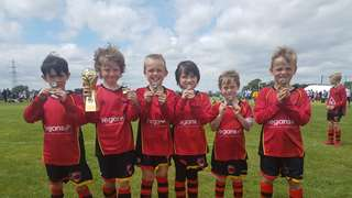 TW Foresters are Paddock Wood Tournament 2018  U7s Champions