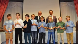 SDYL Awards 2016 U10 runner's up