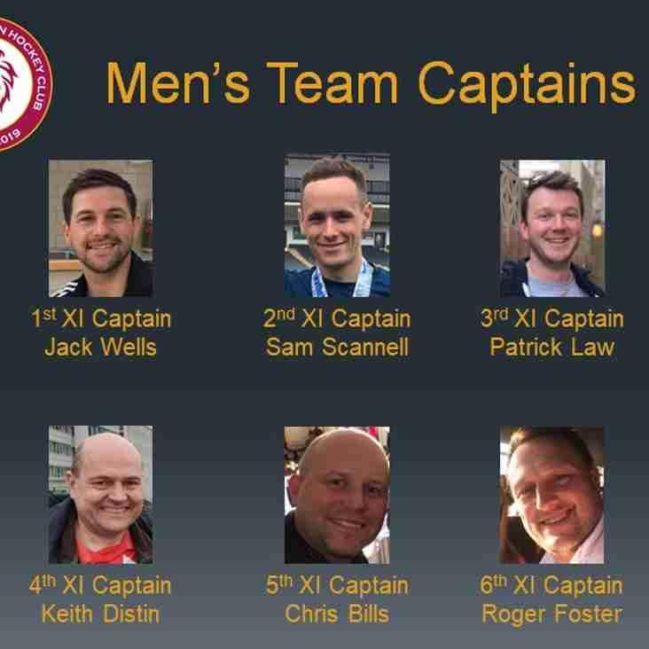 Men's Captains 2020/21