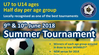 2018 Godmanchester Rovers Youth FC Tournament