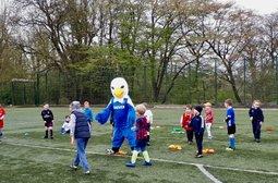 Mini Soccer School opens again Saturday 4th May 2019