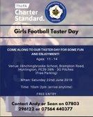 Girls Football Taster Day