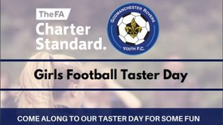 Girls Football Taster Day