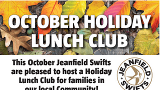 School holiday lunch club back at Jeanfield