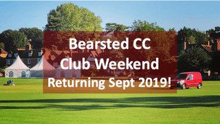 Save the Dates: 13th to 15th September - 2nd Annual Club Weekend