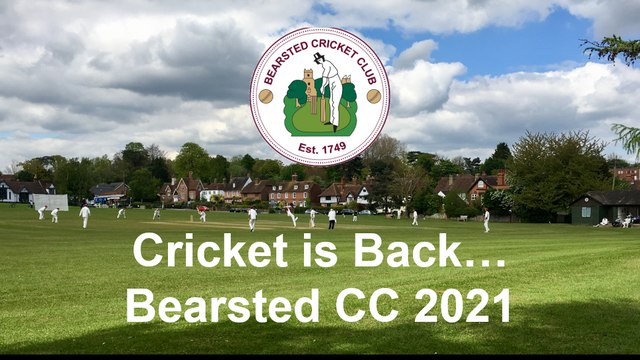 Cricket is BACK at Bearsted CC in 2021!