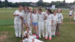 Under 11 Girls make it five wins in a row!