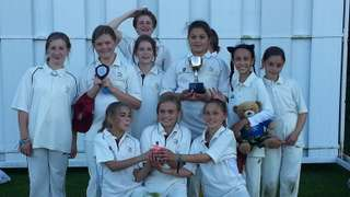 Under 11 Girls are County Champions.