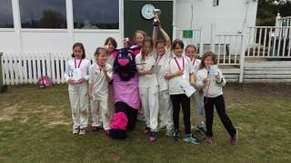 North Midd Girls win Lady Taverners Competition