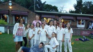 2016 Under 13 Girls v Finchley