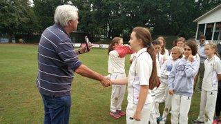 Under 13 Girls North Division Winners Presentation