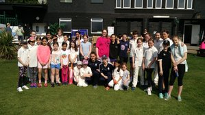 Girls and Womens Cricket at North Middlesex CC in 2018