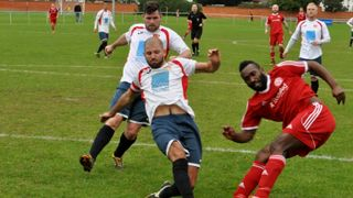 ON Chenecks v Peterborough Sports. 2016/7