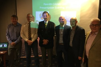 PCC Sponsors Dean Johnston- Dodd & Co, Chris Hardy - AW Jenkinson  TVS  Paul Nixon - guest speaker Martin Walsh - Paramount Legal Costs Barry Turner - Atkinson Building Contractors