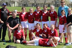 U13 Girls Team
