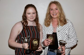 Committees Junior Player of the Season, Pippa Chapman and Head Coaches Most Improved Player of the Year, Jemima Towers
