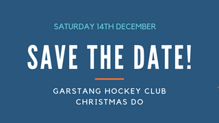 Save The Date: Christmas Do