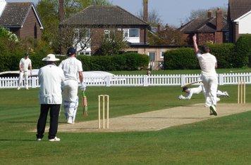 Wicket for James Scott