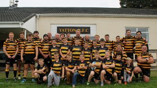 Yatton U11 New sponsored kit launched for 2015-16 Season