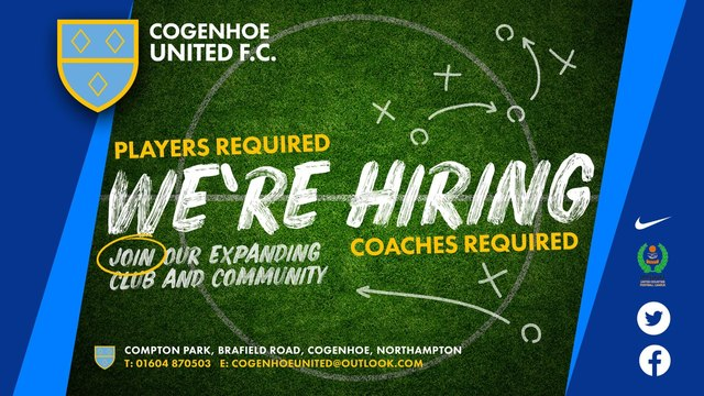 CUFC Youth Opportunites.