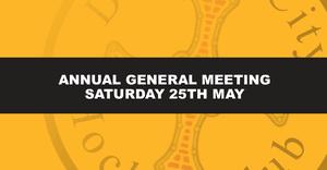 AGM & Play Day - Saturday 25th May