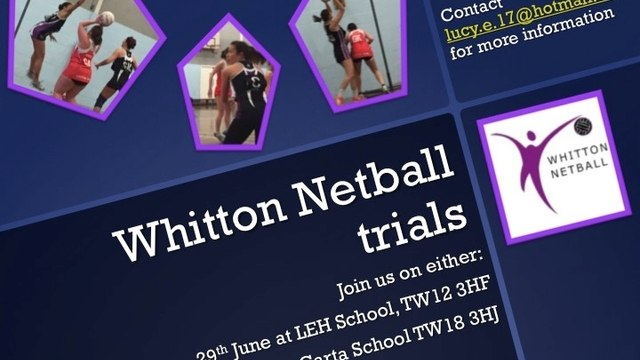 Whitton are recruiting!