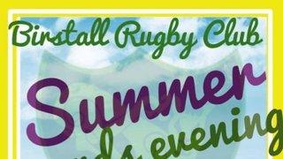 Birstall Rugby Club's Summer Awards Evening