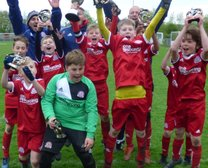 Worthing Dynamos Under 10 Red's Win the ACYFL Bob Marchant Cup Final