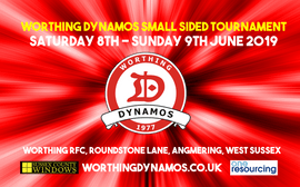 Worthing Dynamos FC Small sided tournament 8th-9th June 2019