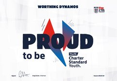 Club FA Charter Standard Achieved for the 17th year!