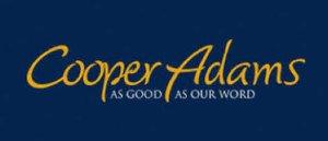 U10 White Team New Rain Jackets issued thanks to sponsor: Cooper Adams
