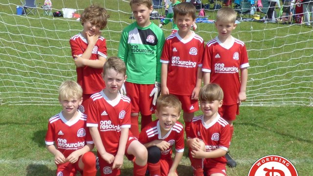 Worthing Dynamos U8 Blue